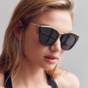 LE SPECS Eye Slay 52mm Cat Eye Sunglasses  🖤